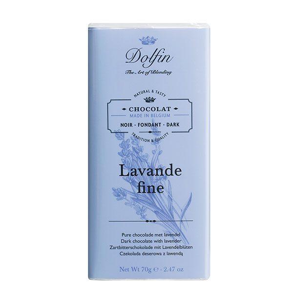 Schokolade mit Lavendel Dolfin Belgien 100 g Vintothèque Véronique