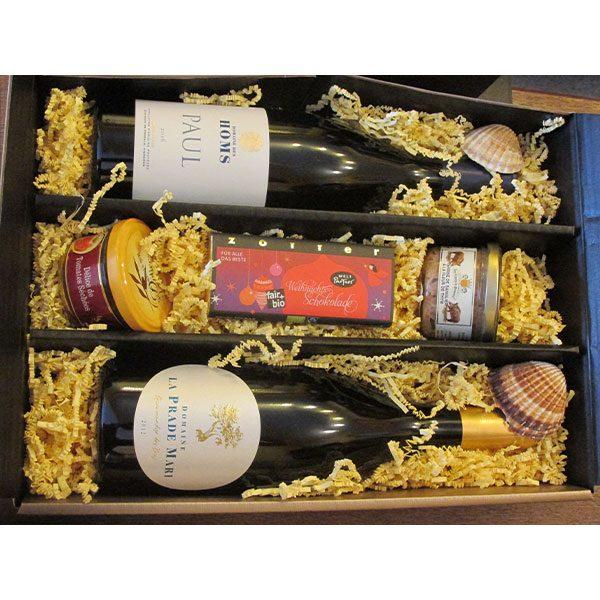 Geschenkpaket Wein und Feinkost 3 - Vinothèque Véronique