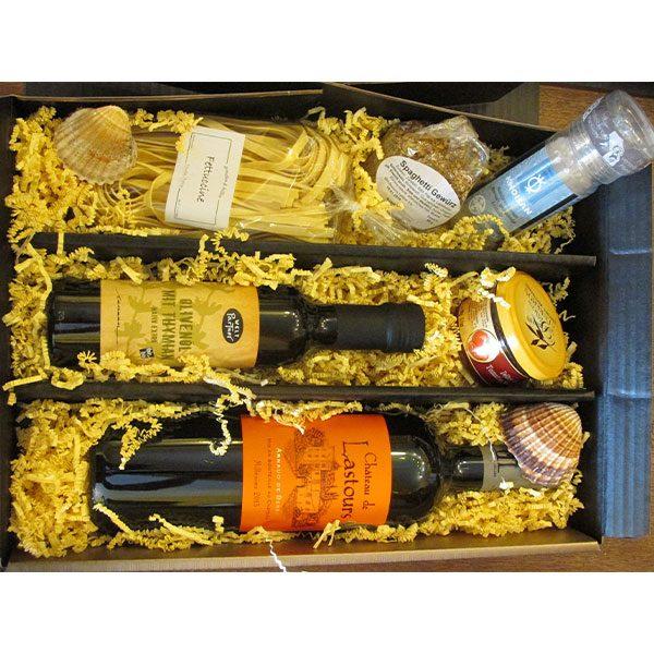 Geschenkpaket Feinkost und Wein - Vinothèque Véronique