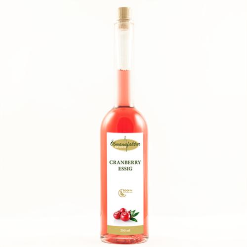 Essig, Cranberry-Essig, Ölmühle Bender