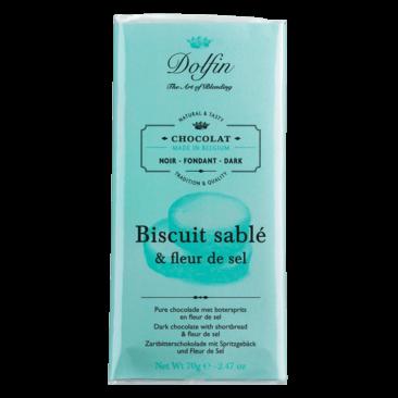 Schokolade Zartbitter Spritzgebäck Fleur de Sel