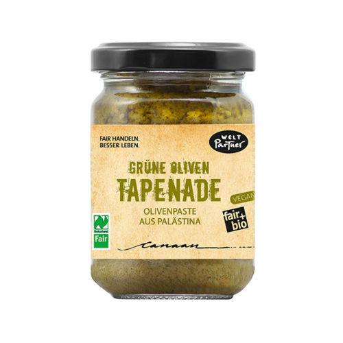 Aufstrich tapenade Grüne Oliven