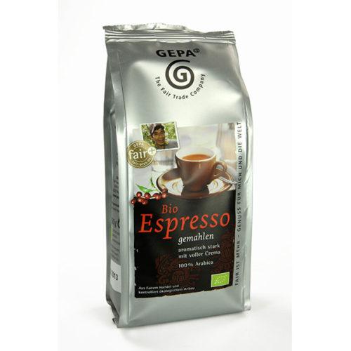 Bio Espresso gemahlen gepa