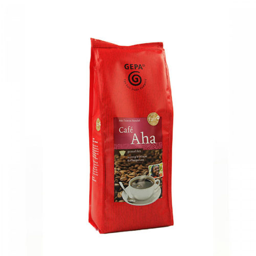 Cafe Aha gemahlen gepa vinotheque veronique