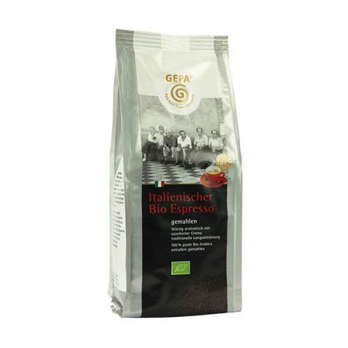 espresso kaffee gepa