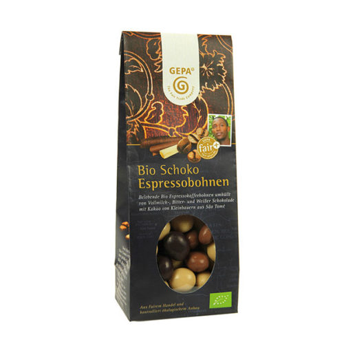 Schokolade Confiserie Pralinen gepa fair
