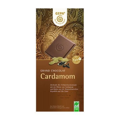 Kardamom cardamom Schokolade gepa
