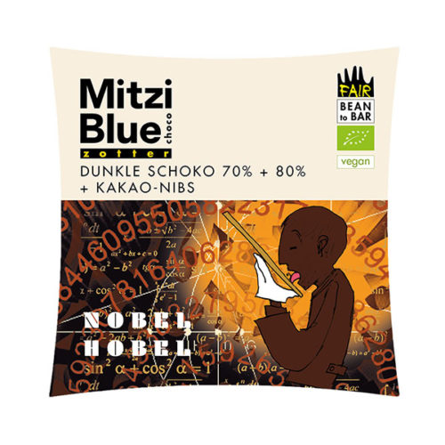 Cacao Nibs Zotter Schokolade Mitzi Blue