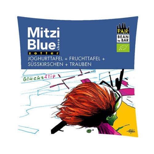 Zotter Schokolade Mitzi Blue Vinotheque Veronique Joghurt Weiß