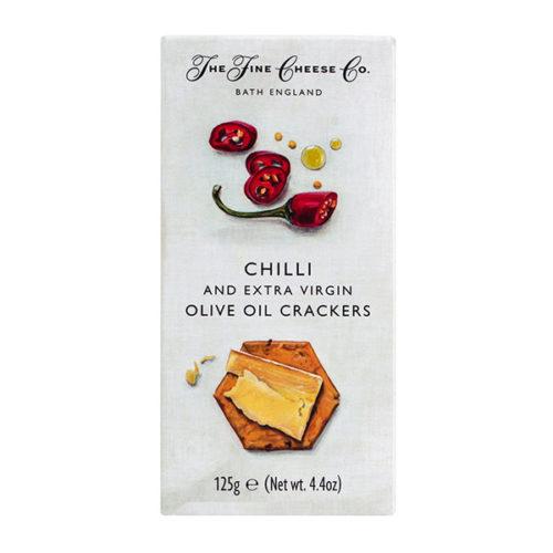Kräcker Chiligebäck Cracker Olivenöl