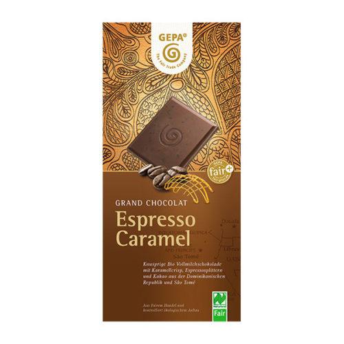 Schokolade Espresso Caramel vinotheque veronique