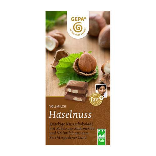 Schokolade Vollmilch Nuss Haselnuss vinotheque veronique