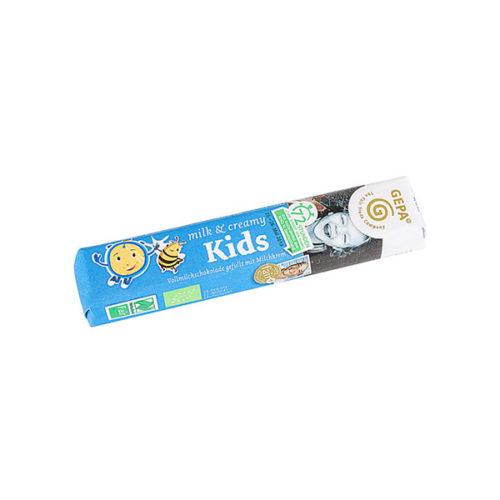 Kinderriegel Schokolade gepa