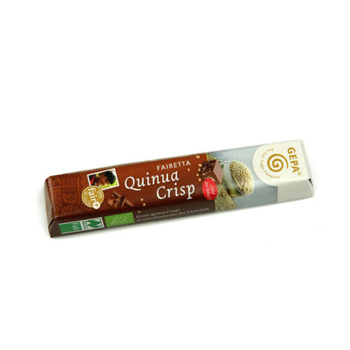 Schokoriegel gepa quinua