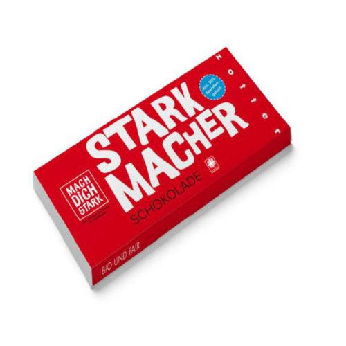 Starkmacher weltpartner zotter schokolade
