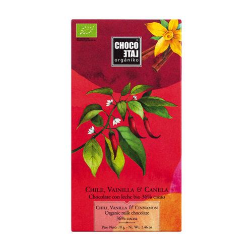 Schokolade Chili Zimt Organiko