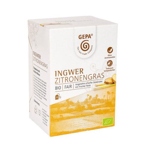 Ingwer Lemongras Zitronengras Tee