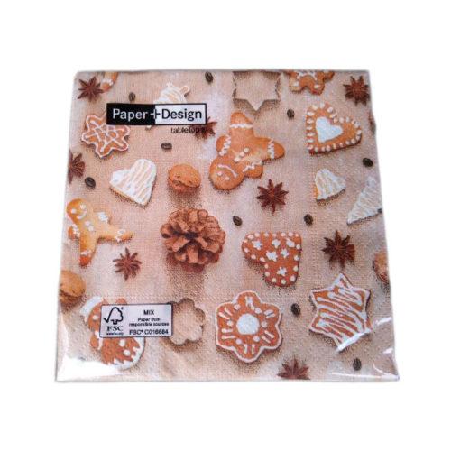 Servietten Cookies