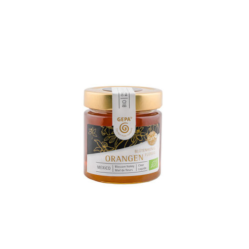 Orangenblueten Honig