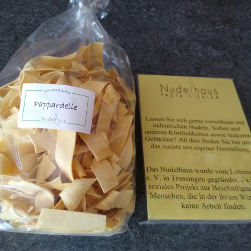 Pappardelle Nudeln